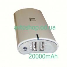 Портативное Зарядное устройство Xiaomi Mi Power Bank 20000mAh