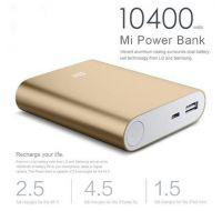 Портативное Зарядное устройство Power Bank Xiaomi Mi 10400mAh
