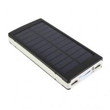 Портативное Зарядное устройство UKC Power Bank + Solar Panel 25000mAh
