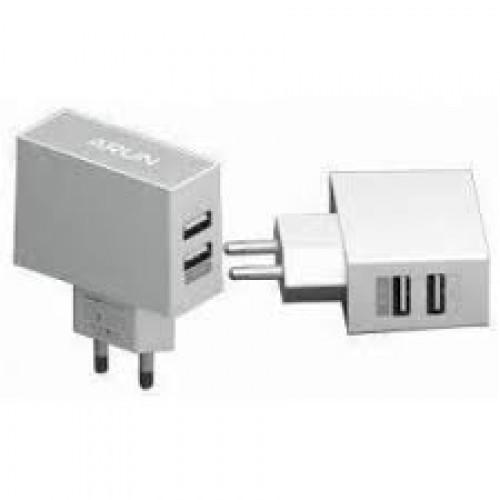 Сетевое зарядное устройство ARUN AU200 2.1 USB Changer