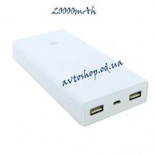 Портативное зарядное устройство Xiomi 20000mAh
