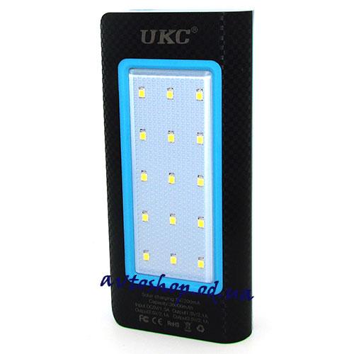 Портативное зарядное устройство Power Bank 36000mAh solar