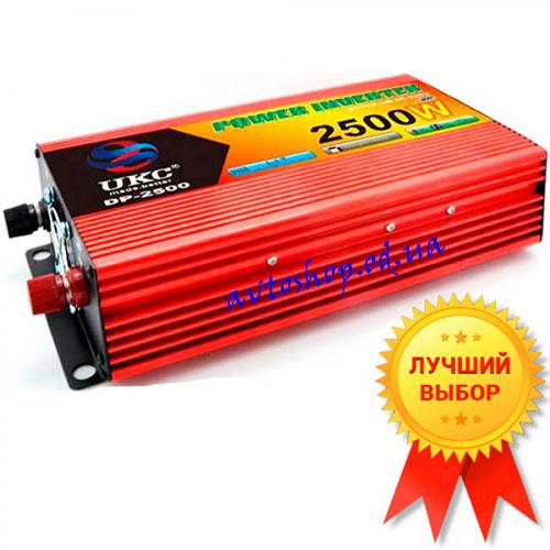 Преобразователь UKC DP-2500W  реальная мощность