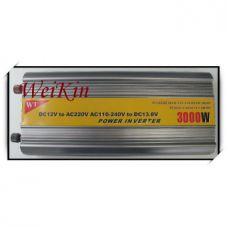 Преобразователь напряжения ( Инвертор) 12V-220 Вольт 3000 Вт
