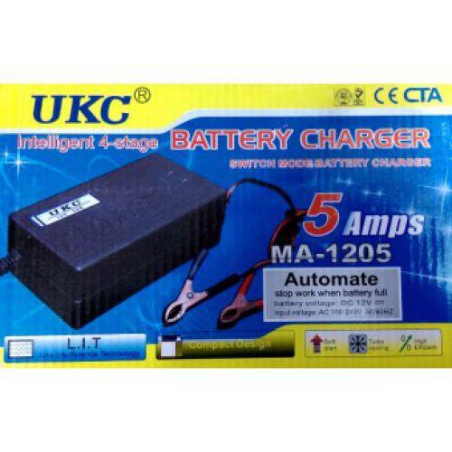 Зарядка для Аккумулятора 12V 5A MA1205