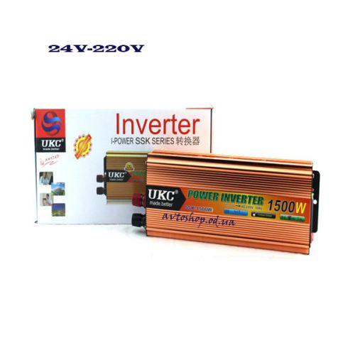 Преобразователь напряжения AC/DC SSK 1500W 24V/220V