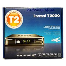 Цифровой эфирный DVB T2 приемник RomSat T2020