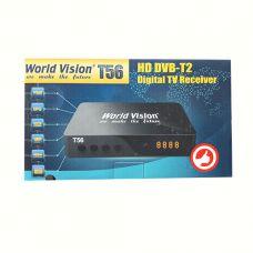 Цифровой эфирный DVB T2 приемник World Vision T56