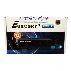 Цифровой эфирный DVB T2 приемник Eurosky ES-11