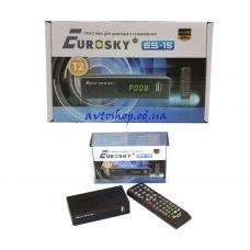 Цифровой эфирный DVB T2 приемник Eurosky ES-15