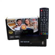 Цифровой эфирный DVB T2 приемник 0967 с поддержкой wi-fi адаптера