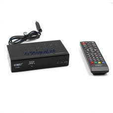 Цифровой эфирный DVB T2 приемник 0968 метал с поддержкой wi-fi адаптера