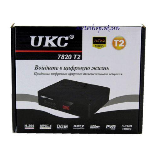 Цифровой эфирный DVB T2 приемник 7820 с поддержкой wi-fi адаптера