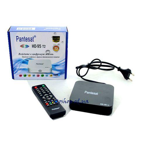 Цифровой эфирный DVB T2 приемник 95 HD с поддержкой wi-fi адаптера