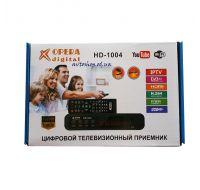 Цифровой эфирный DVB T2 приемник OPERA HD-1004