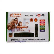 Цифровой эфирный DVB T2 приемник OPERA HD-1005