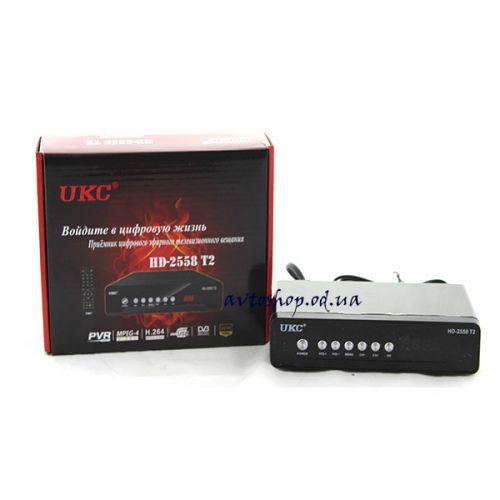 Цифровой эфирный DVB T2 приемник UKC-2558