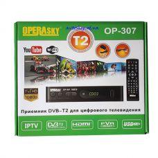 Цифровой эфирный DVB T2 приемник OPERASKY OP-307
