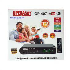 Цифровой эфирный DVB T2 приемник OPERASKY OP-407