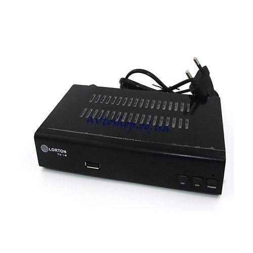 Цифровой эфирный DVB T2 приемник Lorton T-18