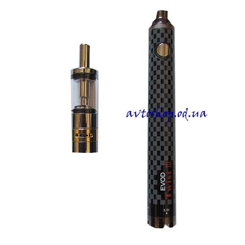 Электронная сигарета EVOD Twist III 1600mah EC-022 Black