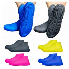 Силиконовые чехлы бахилы для обуви от дождя и грязи, размер S 32-36