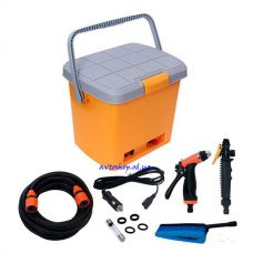 Портативная ручная авто мойка от прикуривателя High Pressure Portable Car Washer