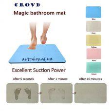 Диатомитовый  (мгновенно впитывающий) коврик для ванны 60*39*0.9cm
