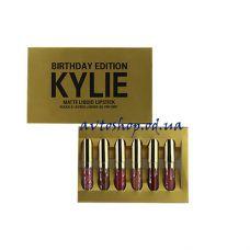 Помада Kylie 8607 gold 6шт