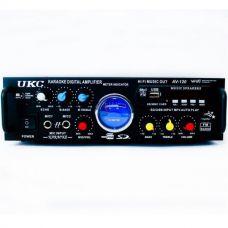 Усилитель UKC AV-339 USB с КАРАОКЕ