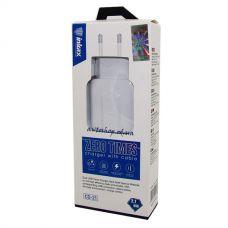 Адаптер для зарядки телефонов Inkax CD-21 2,1mAH