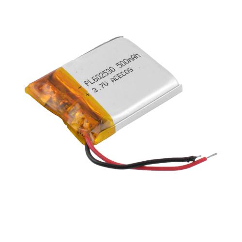 Аккумулятор литий-полимерный 602530, 500mAh, 3.7V