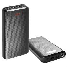 Power Bank REMAX PRODA 30000mAh 2USB(1A+2A), цифровой дисплей, фонарик 1LED линза -133 (8000mAh)