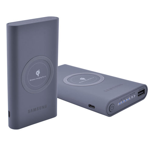 Power Bank Sumsung 45000mAh USB(2.1A), QI(1A), инд.зар. - 15 (4500mAh)