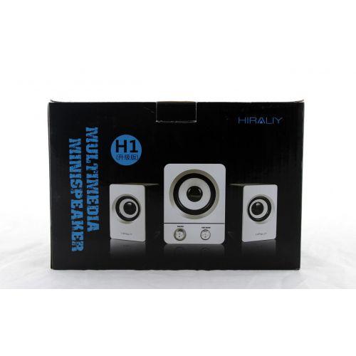 Акустика для ПК 2.1 H1 BASS USB Hiraliy