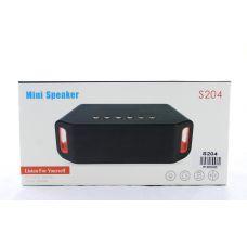 Портативная колонка SPS S204 с поддержкой Bluetooth