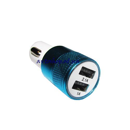 АЗУ на 2 USB выхода 2100mAh