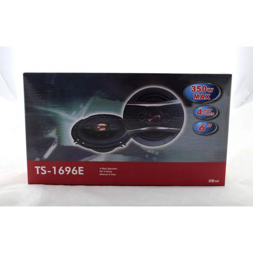 Автоколонки TS 1696 max 350w / автомобильная акустика / колонки автомобильные / 2х полосные