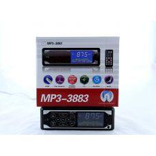 Автомагнитола 3883 ISO - MP3 Player, FM, USB, SD, AUX , сенсорный дисплей