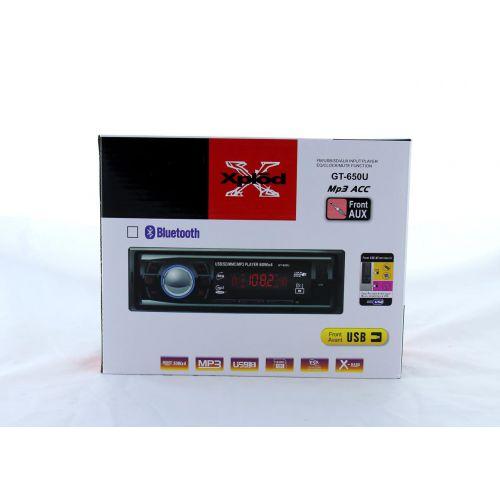 Автомагнитола GT-650U ISO MP3 + USB флешки / SD карты памяти / AUX / FM / 4x50W
