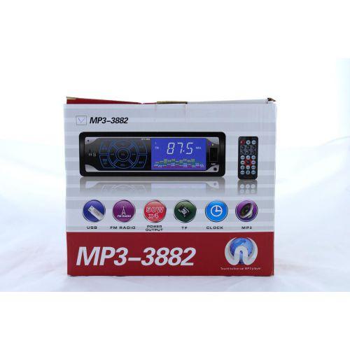 Автомагнитола MP3 3882 с сенсорными кнопками, FM MP3 USB micriSD (TF) AUX ISO
