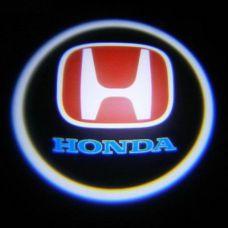 Дверной логотип LED LOGO 004 HONDA, светодиодный логотип, Лазерная проекция