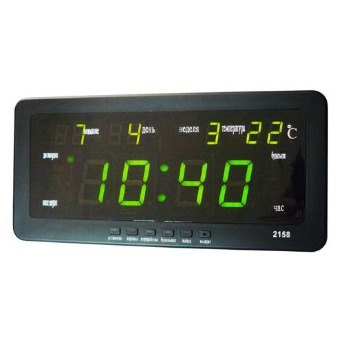 Часы электронные 2158-2 зеленые
