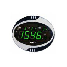 Часы сетевые 770 Т-4 салатовые