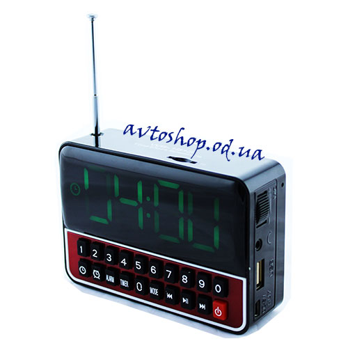 Часы сетевые 1513 с USB и радио