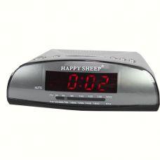 Часы сетевые KK 9905 с FM радио