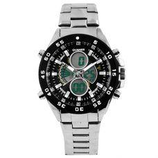 Часы наручные 1103 QUAMER, sport, стальной браслет