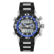 Часы наручные 1320 QUAMER, box, sport, браслет, dual time