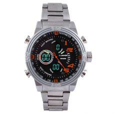 Часы наручные 1702 QUAMER, box, sport, стальной браслет