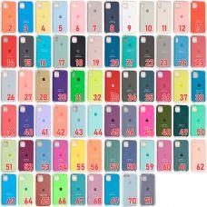 Накладка Silicone Case orig iPhone X 5,8